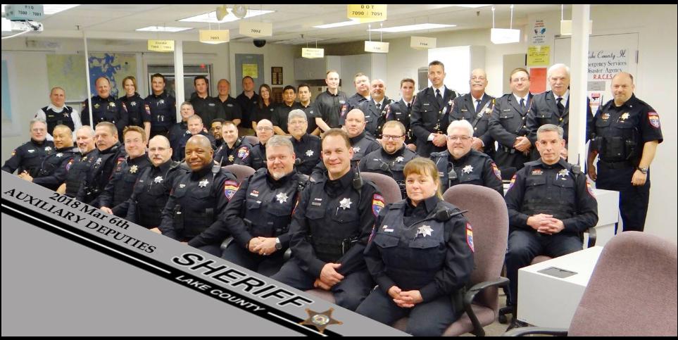 Lake County Sheriffs Deputy — Tehno